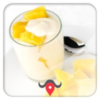 Yogurt all' ananas